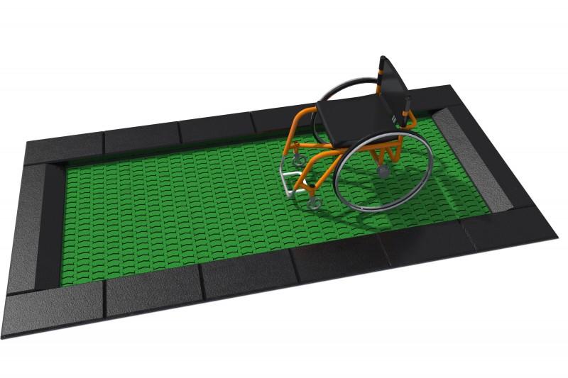 Urządzenia zabawowe Trampolina Orta-I 150 x 300