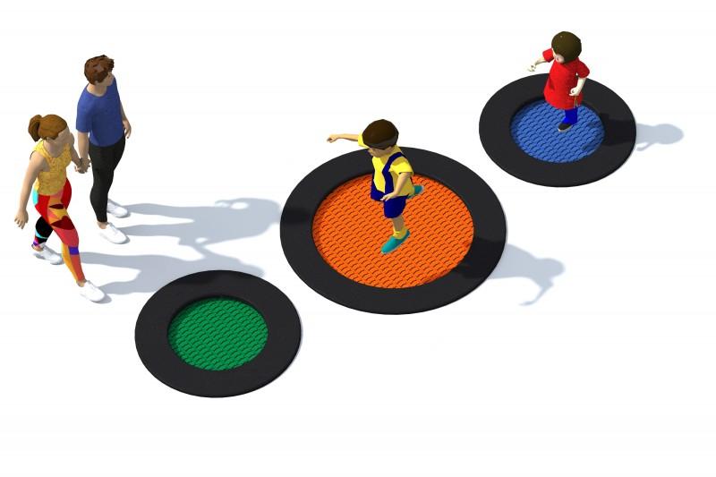 Urządzenia zabawowe Trampolina Tuto 1