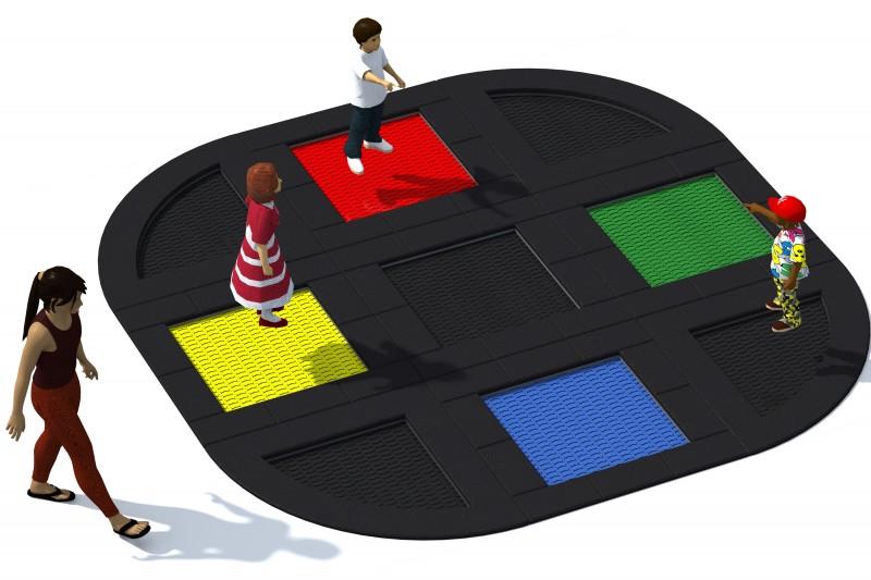 Urządzenia zabawowe Trampolina Tuto 12