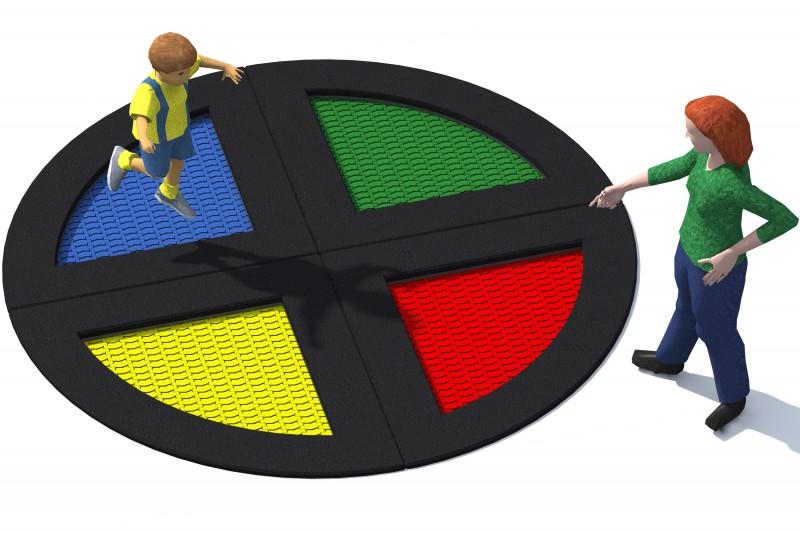 Urządzenia zabawowe Trampolina Tuto 13