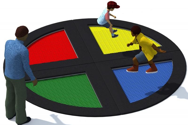 Urządzenia zabawowe Trampolina Tuto 14