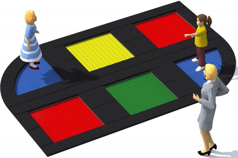 Urządzenia zabawowe Trampolina Tuto 16