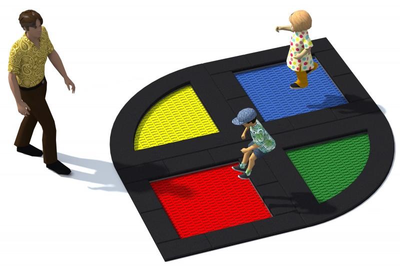 Urządzenia zabawowe Trampolina Tuto 17