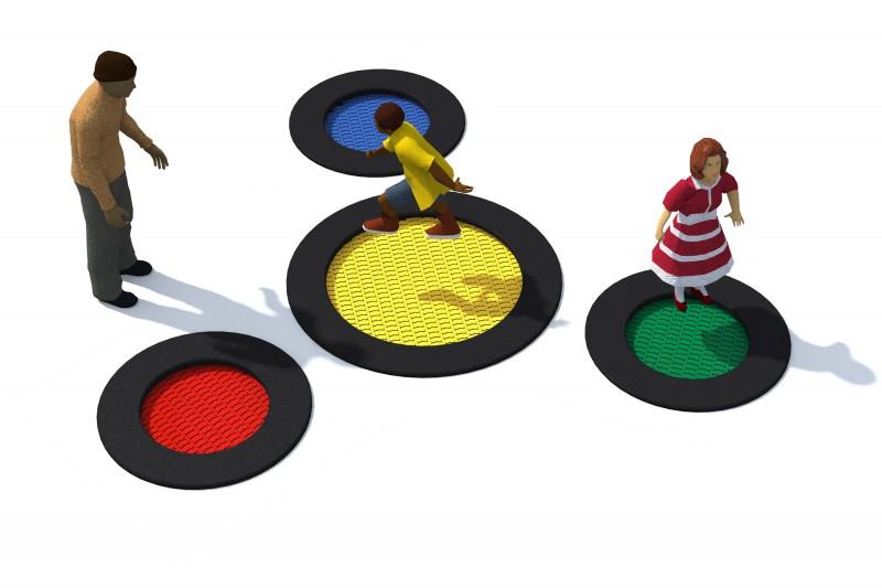 Urządzenia zabawowe Trampolina Tuto 2