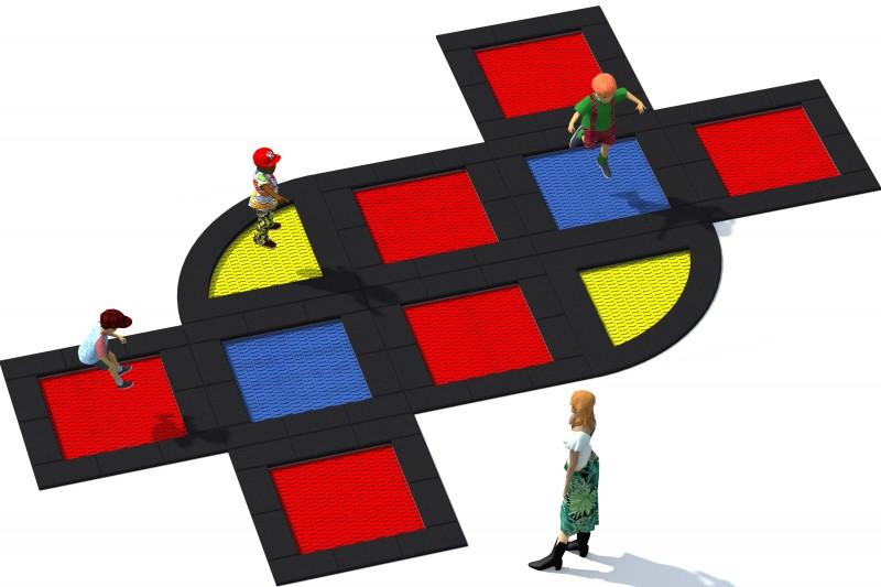 Urządzenia zabawowe Trampolina Tuto 20