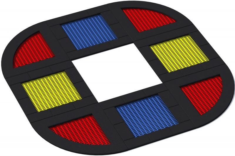 Urządzenia zabawowe Trampolina Tuto 22