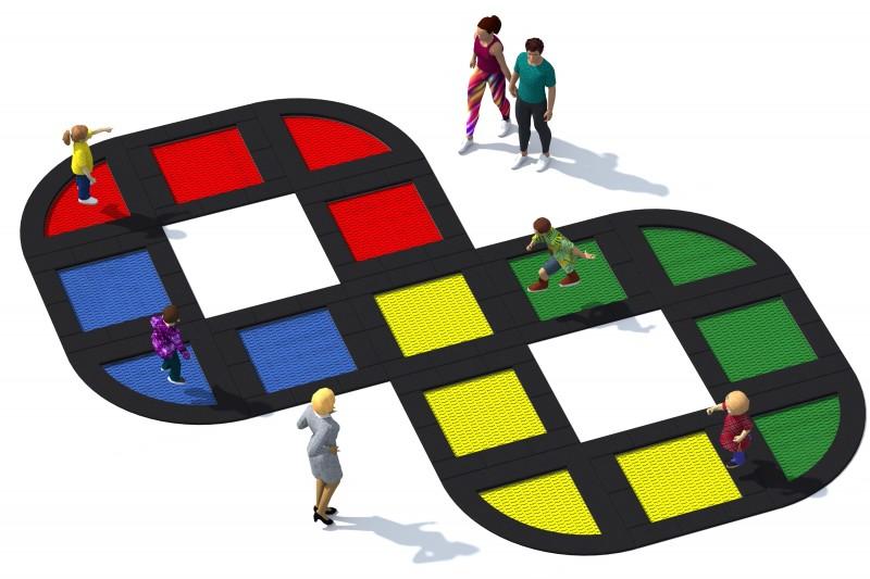 Urządzenia zabawowe Trampolina Tuto 23
