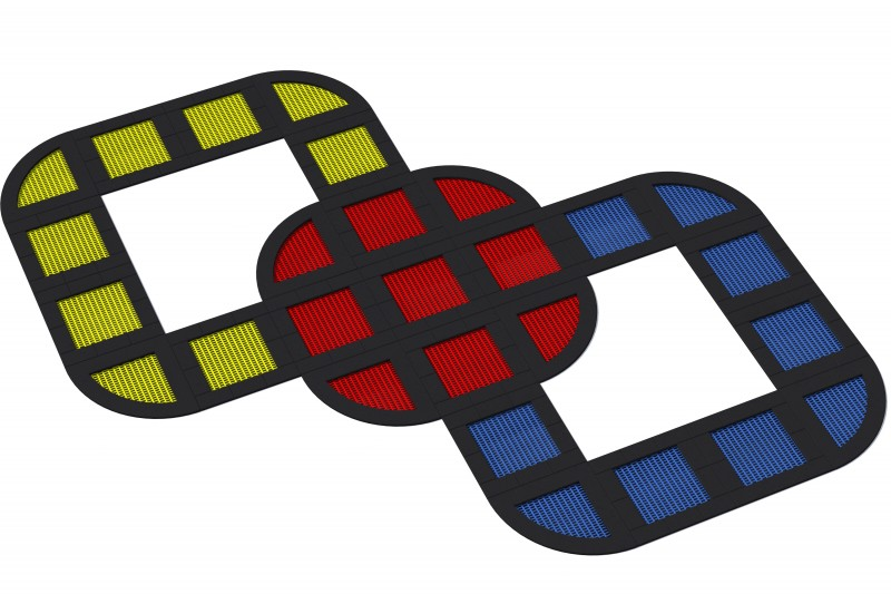 Urządzenia zabawowe Trampolina Tuto 25