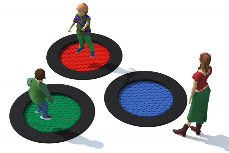 Urządzenia zabawowe Trampolina Tuto 3