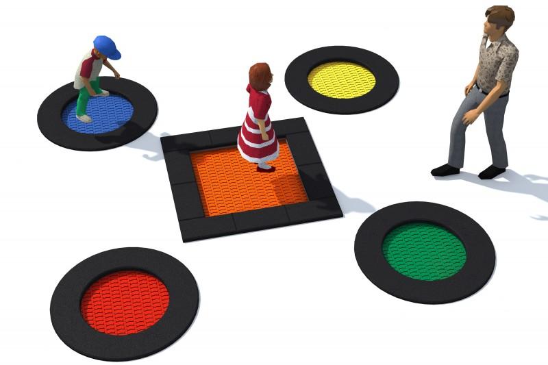 Urządzenia zabawowe Trampolina Tuto 4