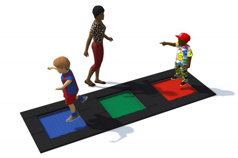 Urządzenia zabawowe Trampolina Tuto 5