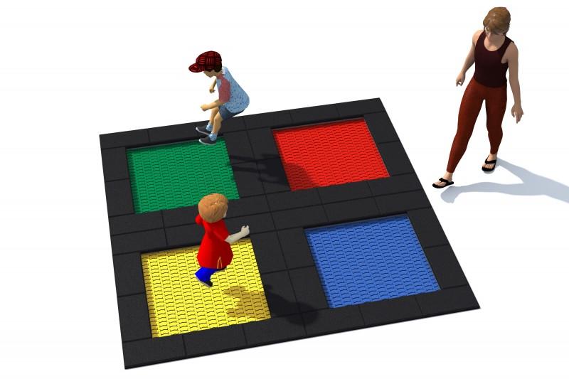Urządzenia zabawowe Trampolina Tuto 6