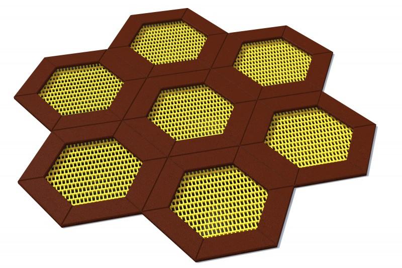 Urządzenia zabawowe Trampolina Hexo 7A