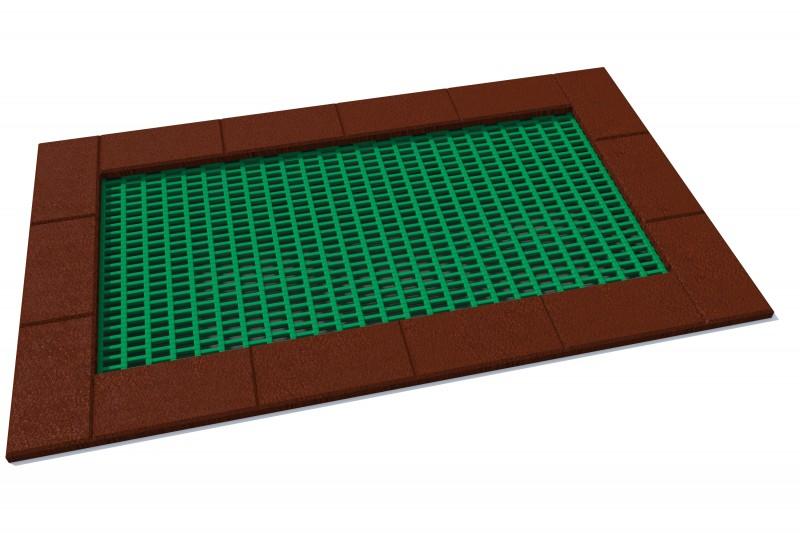 Urządzenia zabawowe Trampolina Orta 150 x 250