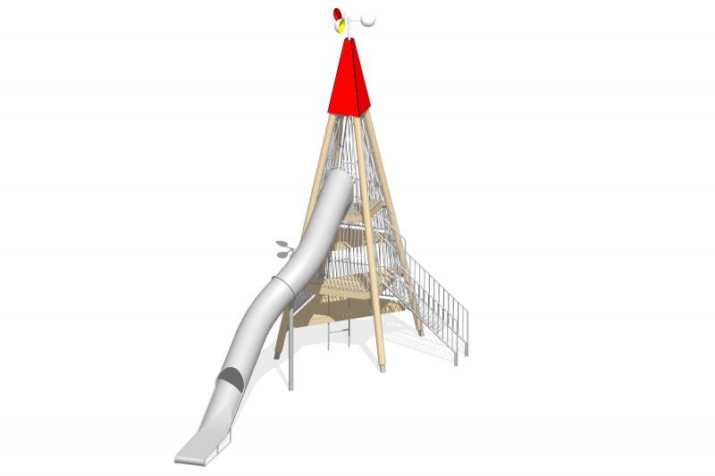 Urządzenia zabawowe Na Plac Zabaw Producent Zestaw Wieża 6