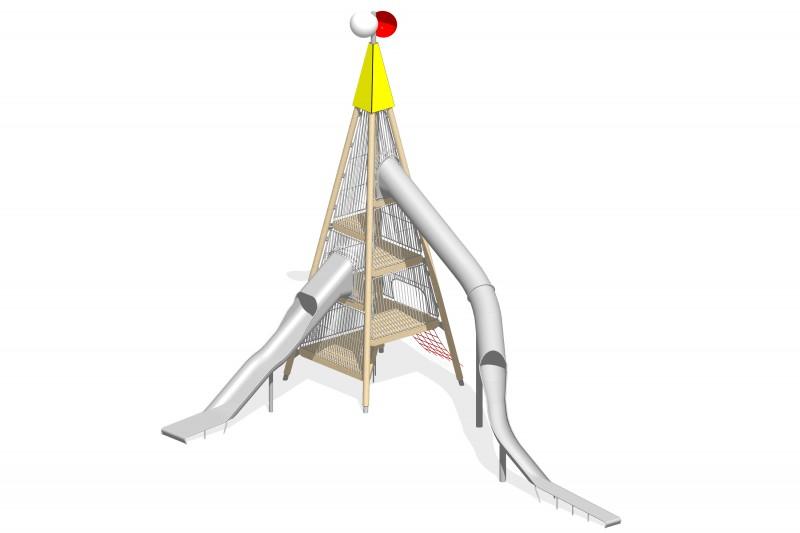 Urządzenia zabawowe Na Plac Zabaw Producent Zestaw Wieża 7