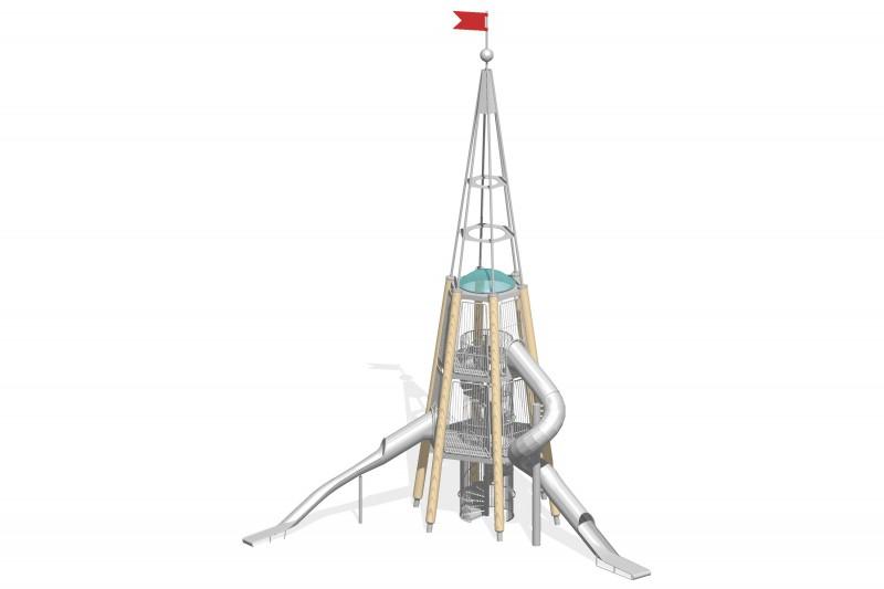 Urządzenia zabawowe Na Plac Zabaw Producent Zestaw Wieża 9