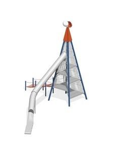 Urządzenia zabawowe Na Plac Zabaw Producent Zestaw Wieża 8