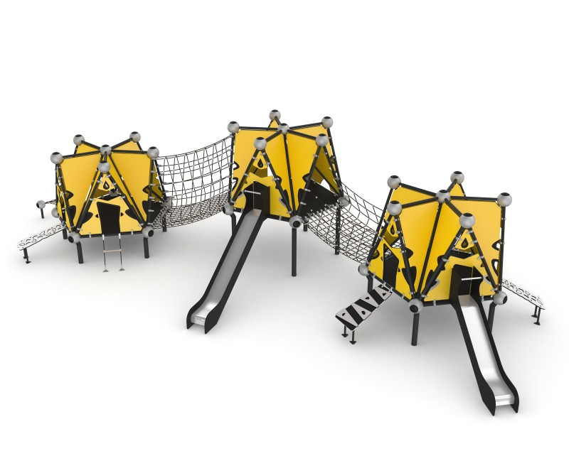 Play Park - Domki na place zabaw Domek Indiański 14