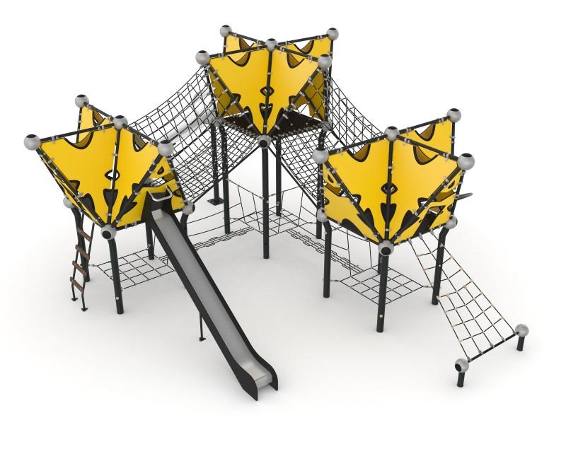 Play Park - Domki na place zabaw Domek Indiański 18