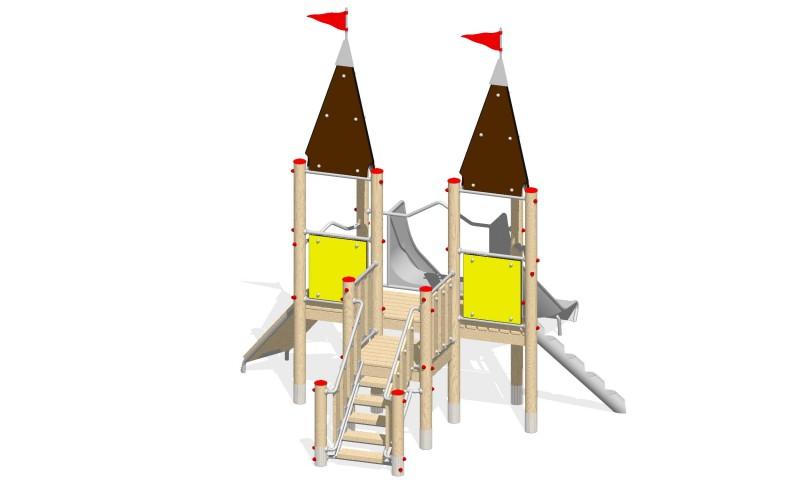 Urządzenia zabawowe Na Plac Zabaw Producent Zamek 1