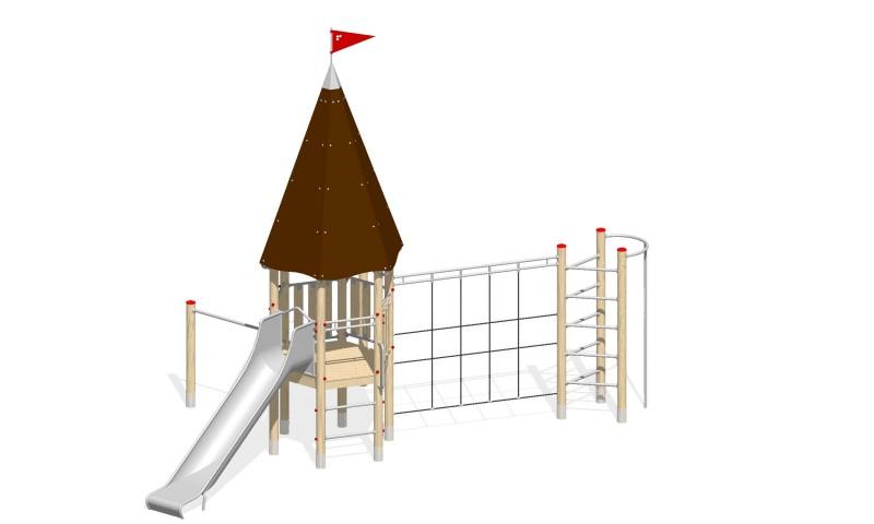 Urządzenia zabawowe Na Plac Zabaw Producent Zamek 3