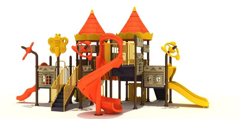 Projekt placu zabaw Zestaw Zamek  5