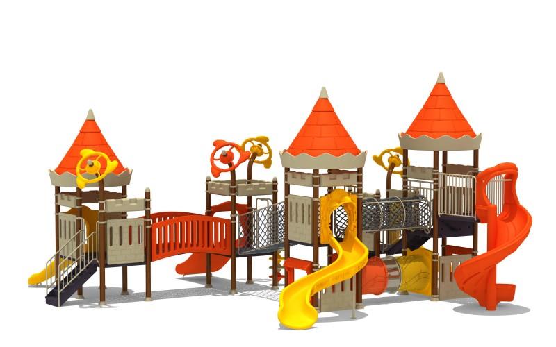 Projekt placu zabaw Zestaw Zamek 9