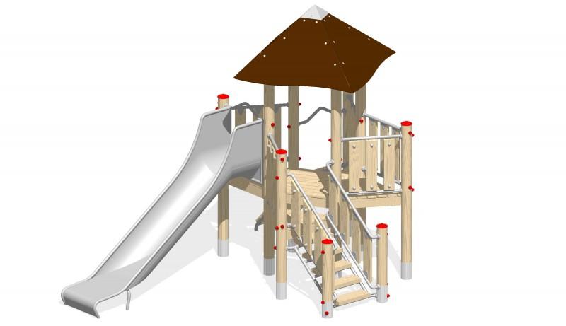 Urządzenia zabawowe Na Plac Zabaw Producent Zestaw 11