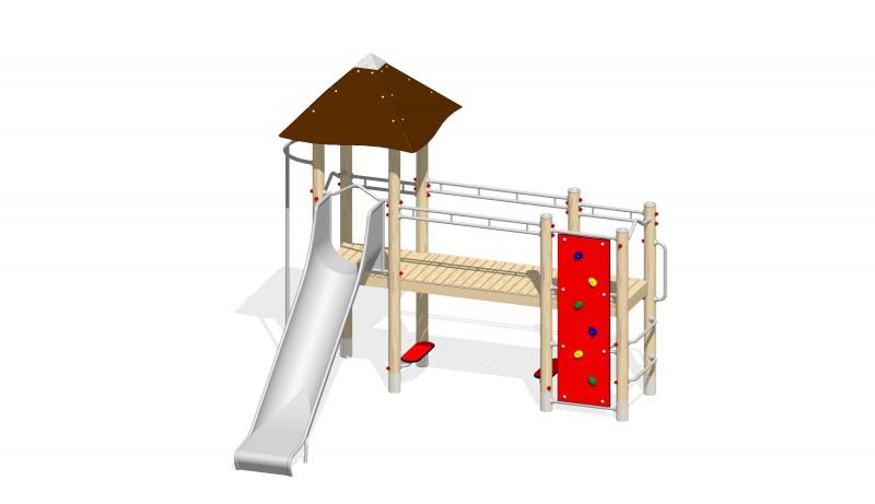 Urządzenia Na Plac Zabaw Producent Zestaw 17
