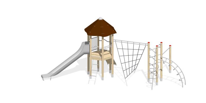 Urządzenia zabawowe Na Plac Zabaw Producent Zestaw 20