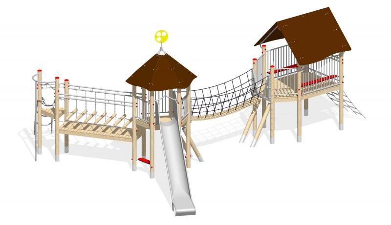 Urządzenia zabawowe Na Plac Zabaw Producent Zestaw 23
