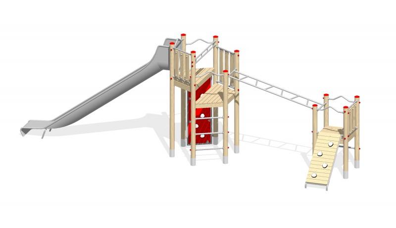 Urządzenia zabawowe Na Plac Zabaw Producent Zestaw 31