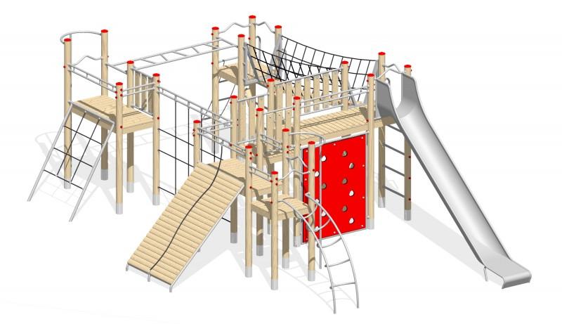 Urządzenia zabawowe Na Plac Zabaw Producent Zestaw 33