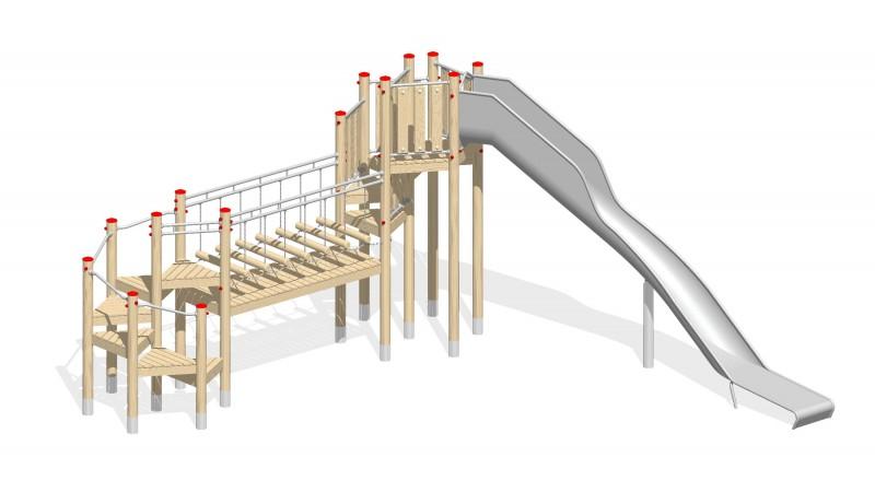 Urządzenia zabawowe Na Plac Zabaw Producent Zestaw 34