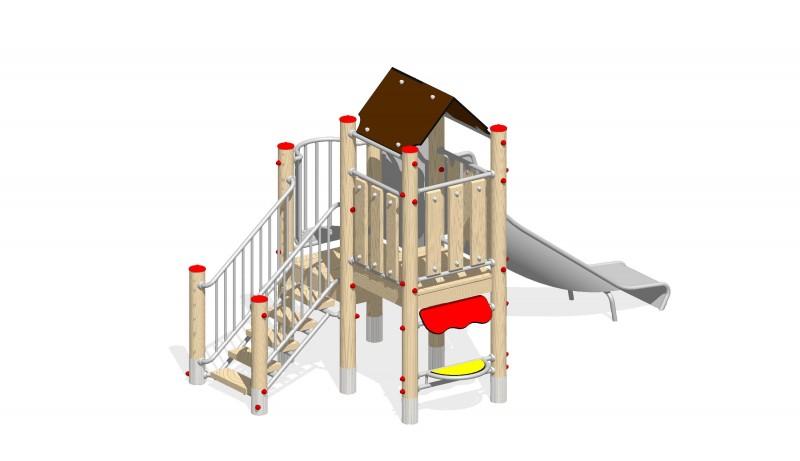 Urządzenia zabawowe Na Plac Zabaw Producent Zestaw 5