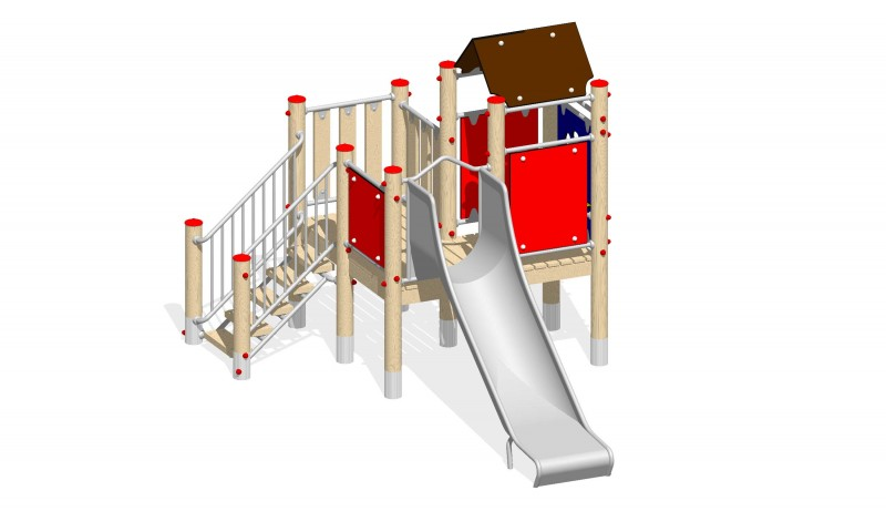 Urządzenia zabawowe Na Plac Zabaw Producent Zestaw 6