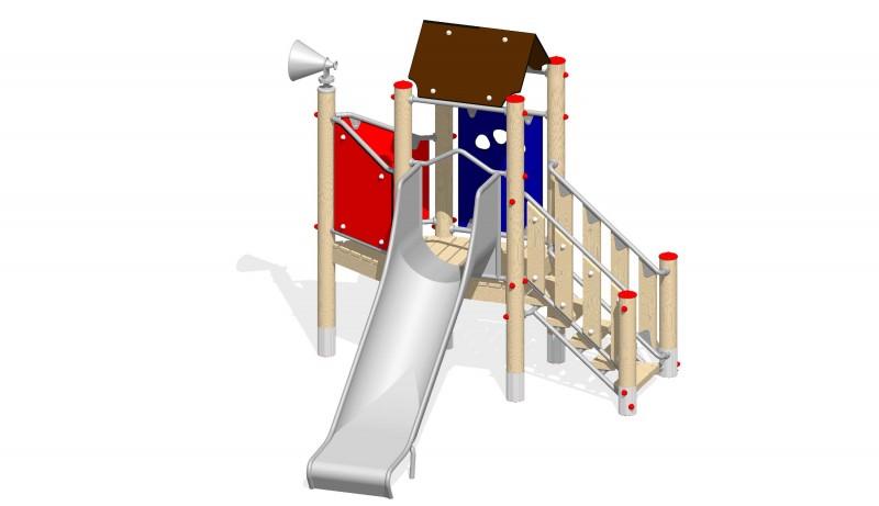 Urządzenia zabawowe Na Plac Zabaw Producent Zestaw 7