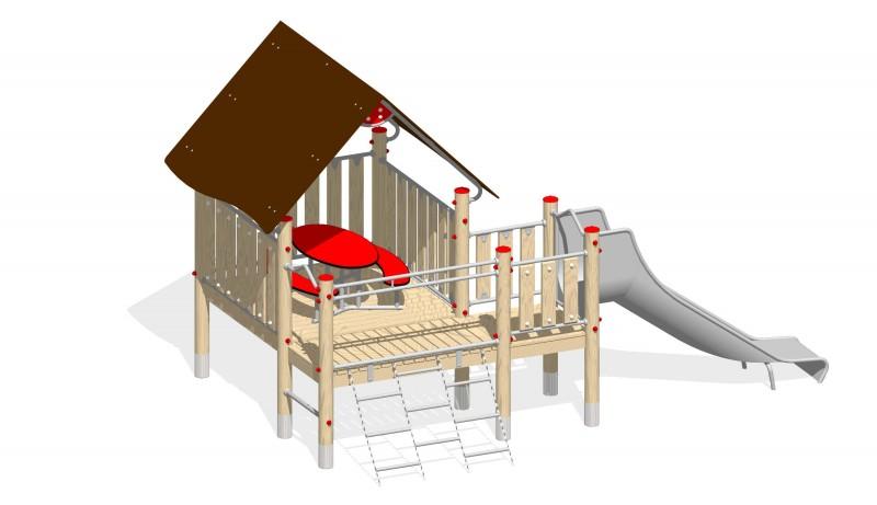 Urządzenia zabawowe Na Plac Zabaw Producent Zestaw 8