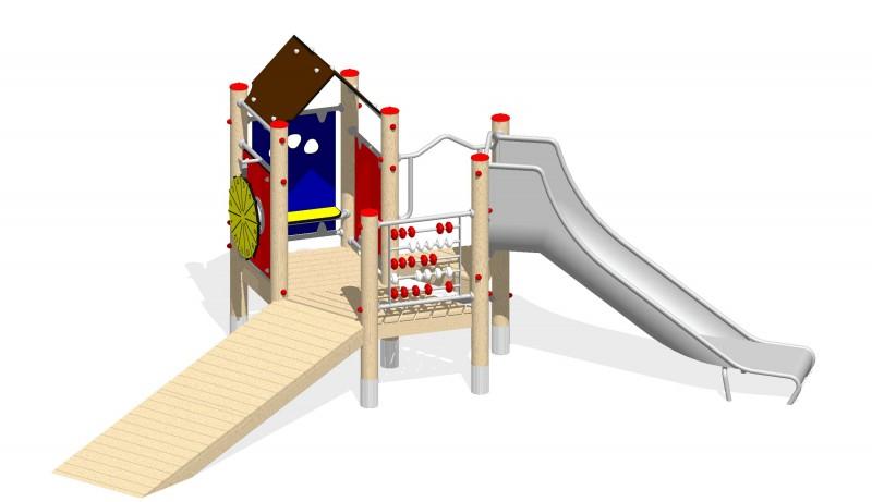 Urządzenia zabawowe Na Plac Zabaw Producent Zestaw 9