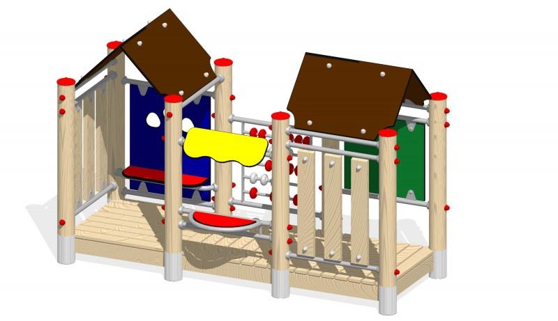 Urządzenia zabawowe Na Plac Zabaw Producent Zestaw Centrum handlowe
