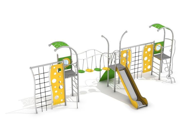 Zjeżdżalnia dla dzieci Zestaw Domo 3-3