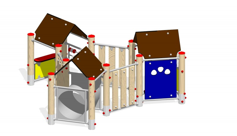 Urządzenia zabawowe Na Plac Zabaw Producent Zestaw Dziecięcy kącik