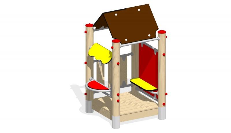 Urządzenia zabawowe Na Plac Zabaw Producent Zestaw Kiosk
