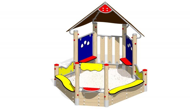 Urządzenia zabawowe Na Plac Zabaw Producent Zestaw Piaskownica 1
