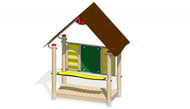Urządzenia zabawowe Na Plac Zabaw Producent Zestaw Sklepik
