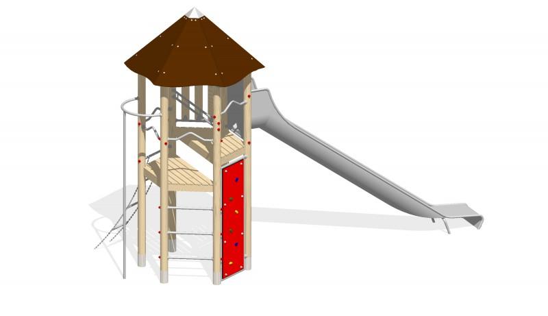 Urządzenia zabawowe Na Plac Zabaw Producent Zestaw Wieża 15