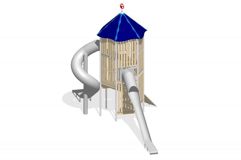 Urządzenia zabawowe Na Plac Zabaw Producent Zestaw Wieża 17