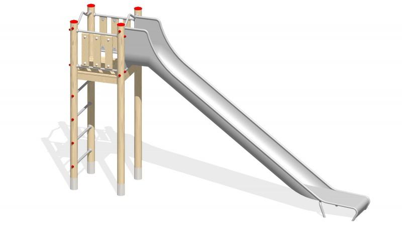 Urządzenia zabawowe Na Plac Zabaw Producent Zjeżdżalnia 4
