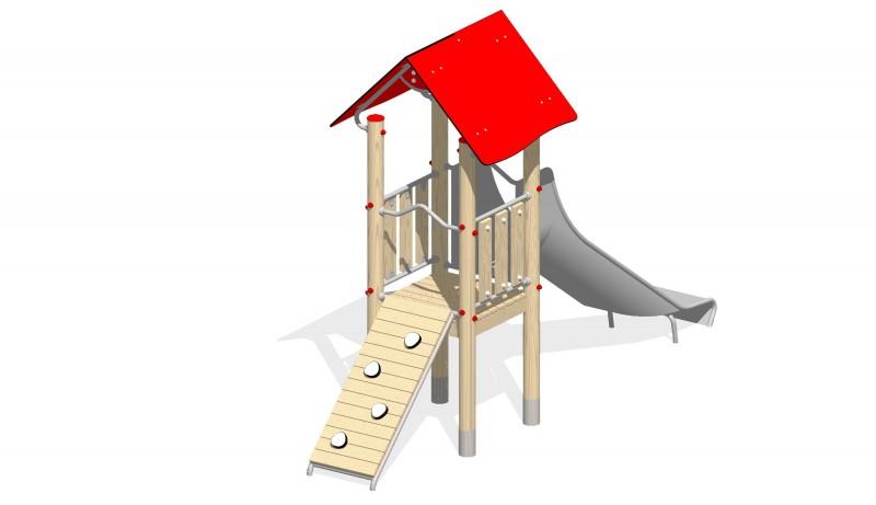 Urządzenia zabawowe Na Plac Zabaw Producent Zjeżdżalnia 6